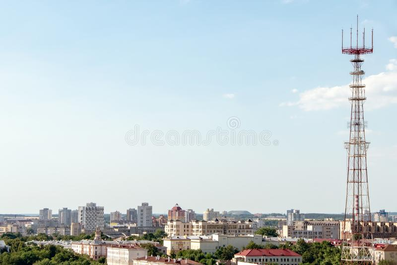Minsk, Białoruś, 2019 kapitał i miejsce drugi, lato, sporty, Europejskie gry obraz royalty free
