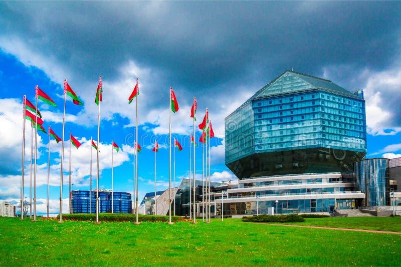 Minsk, Bibliothèque nationale photographie stock