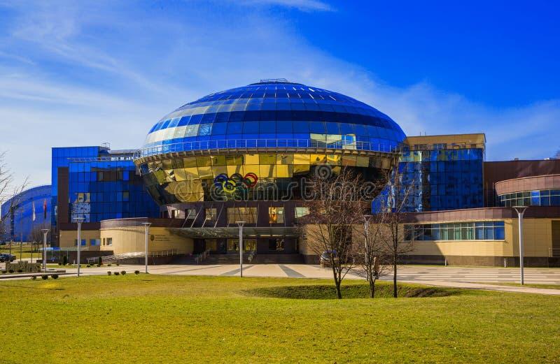 Minsk, Bielorrusia, contiene al comité nacional de Olimpic fotografía de archivo