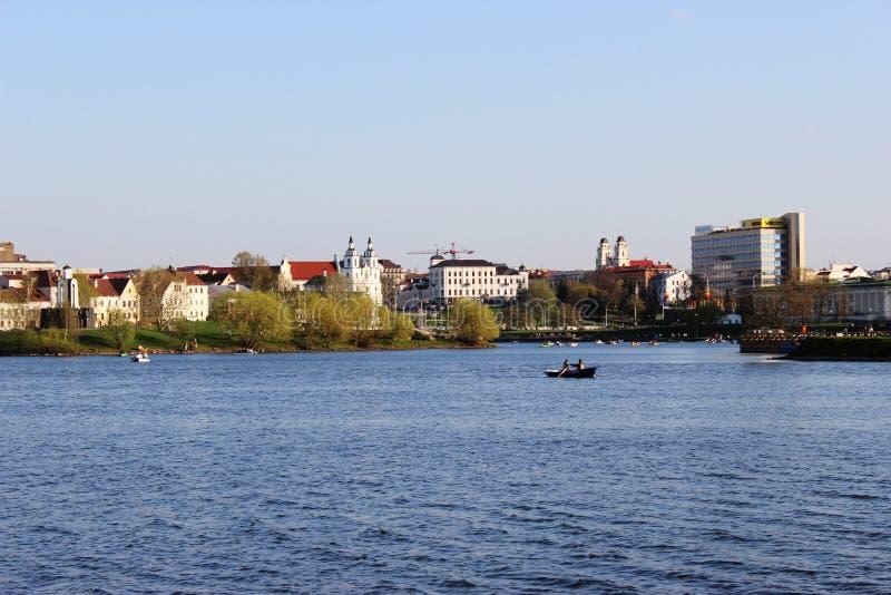 Minsk, Bielorrusia - 5 de mayo de 2013 foto de archivo libre de regalías