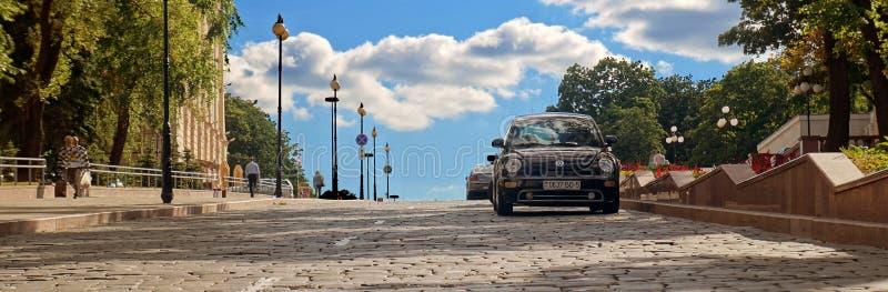 Minsk& x27; calle de s fotos de archivo libres de regalías