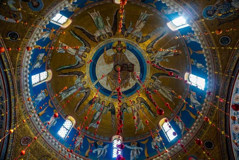 Minsk Elisabeth Świątobliwy klasztor Chrystus zdjęcia royalty free