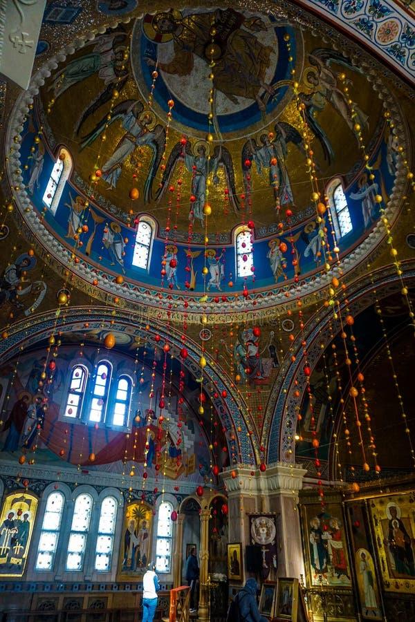 Minsk Elisabeth klasztoru Świątobliwa kopuła zdjęcia royalty free