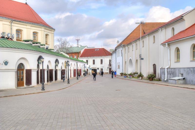 minsk Herzen-Straße stockfoto