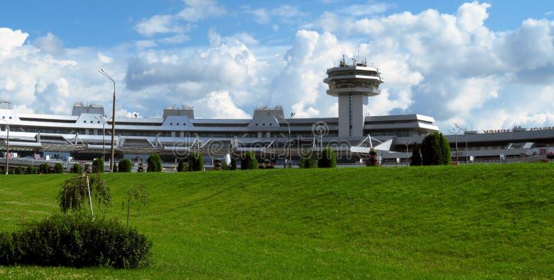 Minsk - National Airport. Minsk, Belarus - July 14, 2018: Minsk National Airport former name Minsk-2 is the main international airport in Belarus stock photos