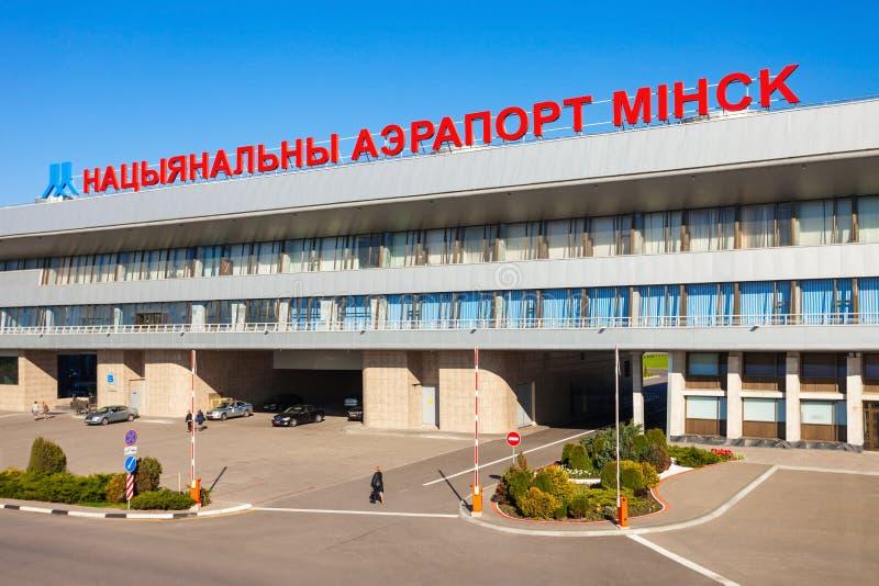 Minsk National Airport, Belarus stock image