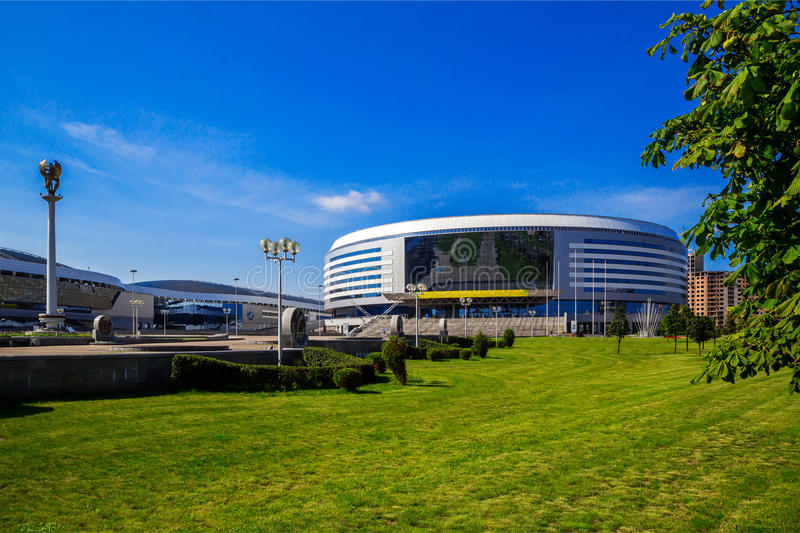 Minsk, sports complexes photo stock