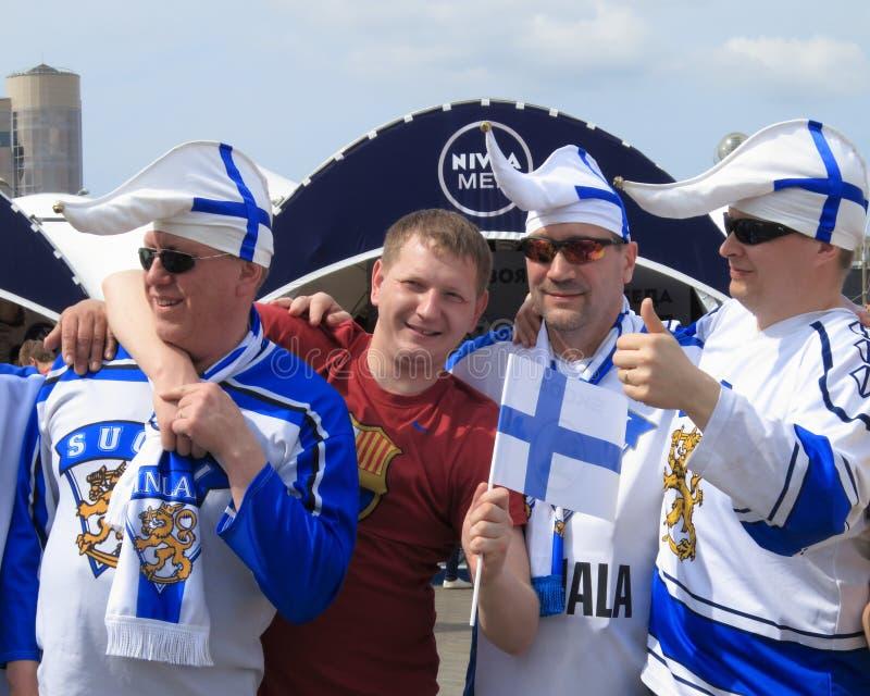 Minsk Vitryssland: Ishockeyvärldsmästerskap 2014 royaltyfri bild