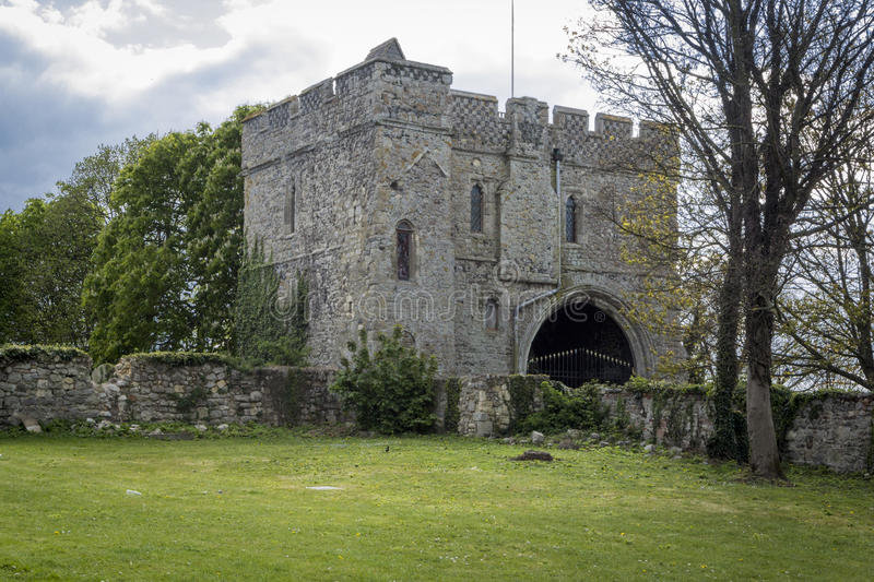 Minster Abbey Gatehouse Museum royalty free stock image