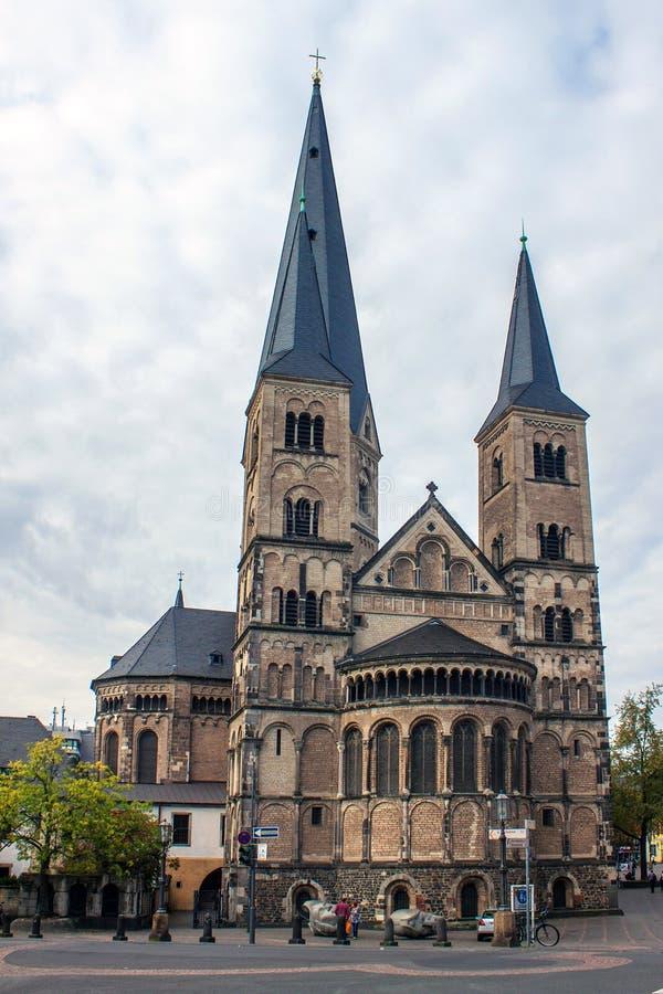 Minster a Bonn, Germania fotografia stock libera da diritti