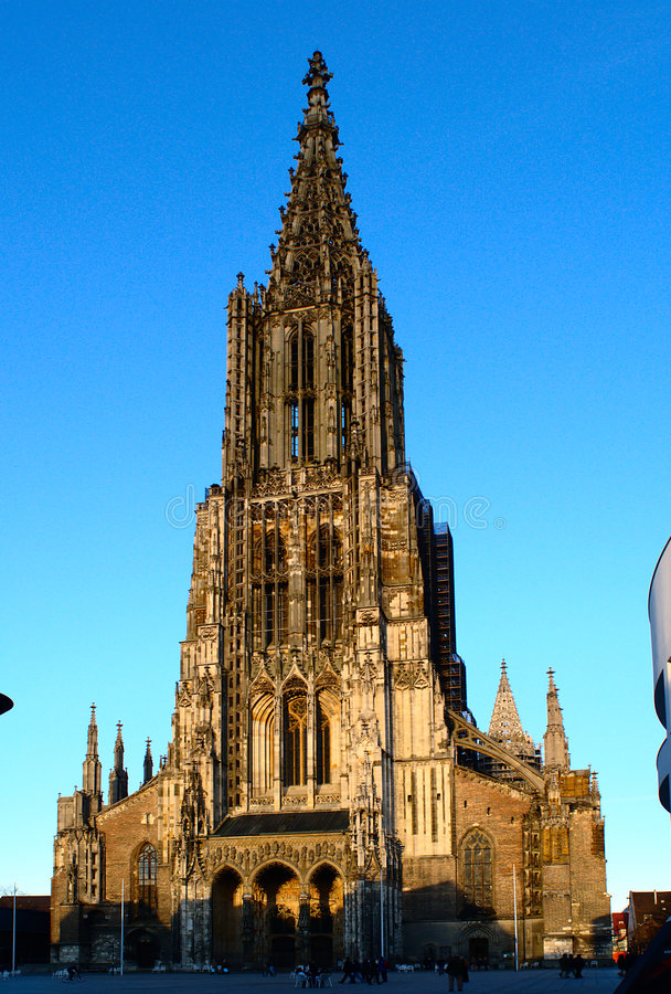 Minster Of Ulm Royalty Free Stock Image