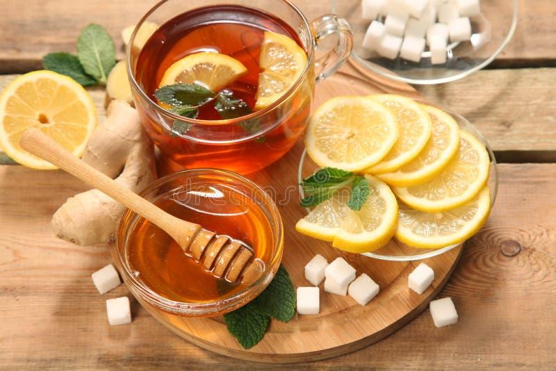 mint чай стоковое изображение rf