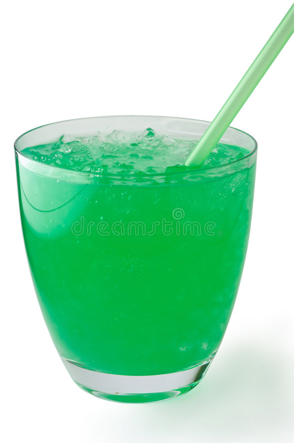 Download Mint  Drink With Crushed Ice Stock Image - Image: 2702397