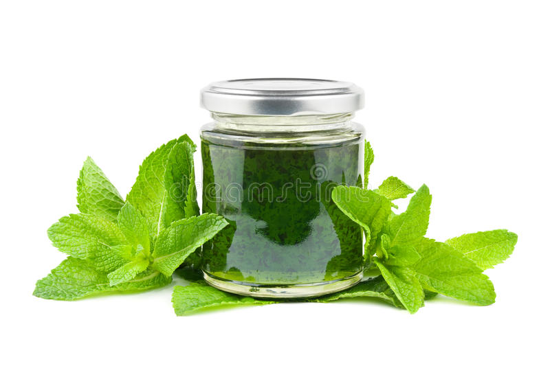 Download Mint jelly stock photo. Image of preserves, background - 25407376