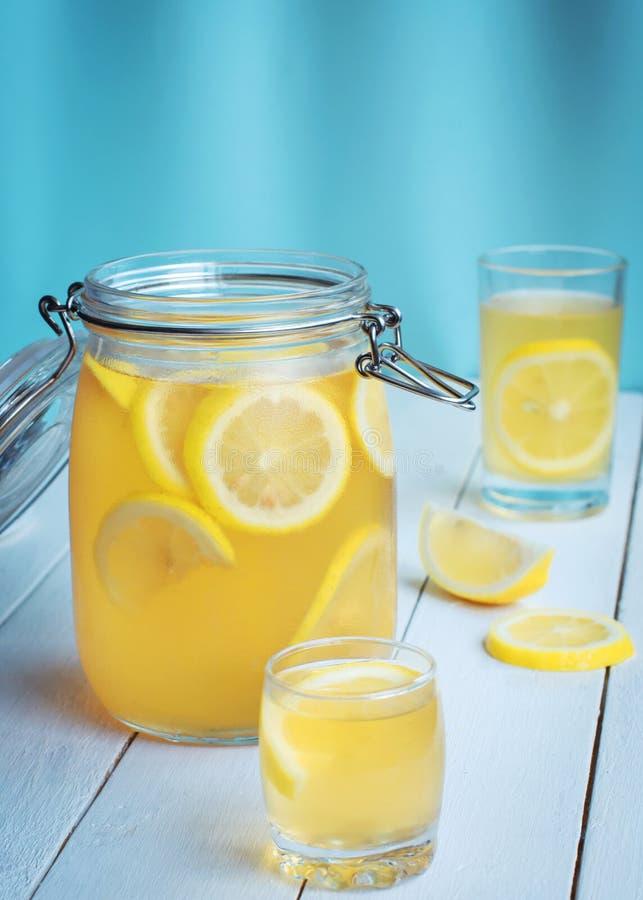 Mint lemon tea royalty free stock images