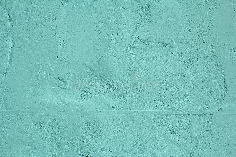 Mint stone wall texture royalty free stock images