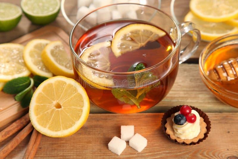 mint tea royaltyfri bild