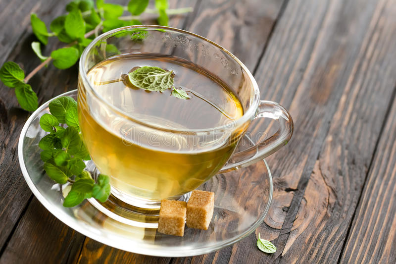 Mint Tea Stock Photography