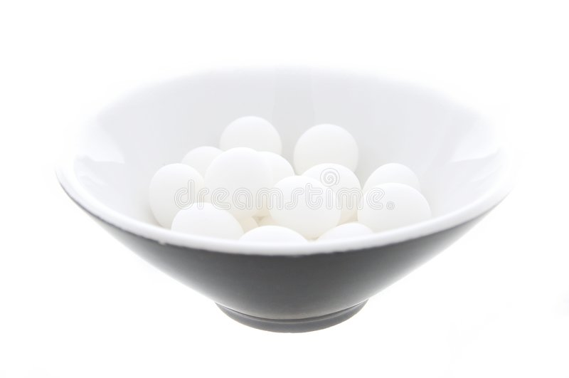 Download Mints in a bowl stock image. Image of flavor, macro, several - 1431385