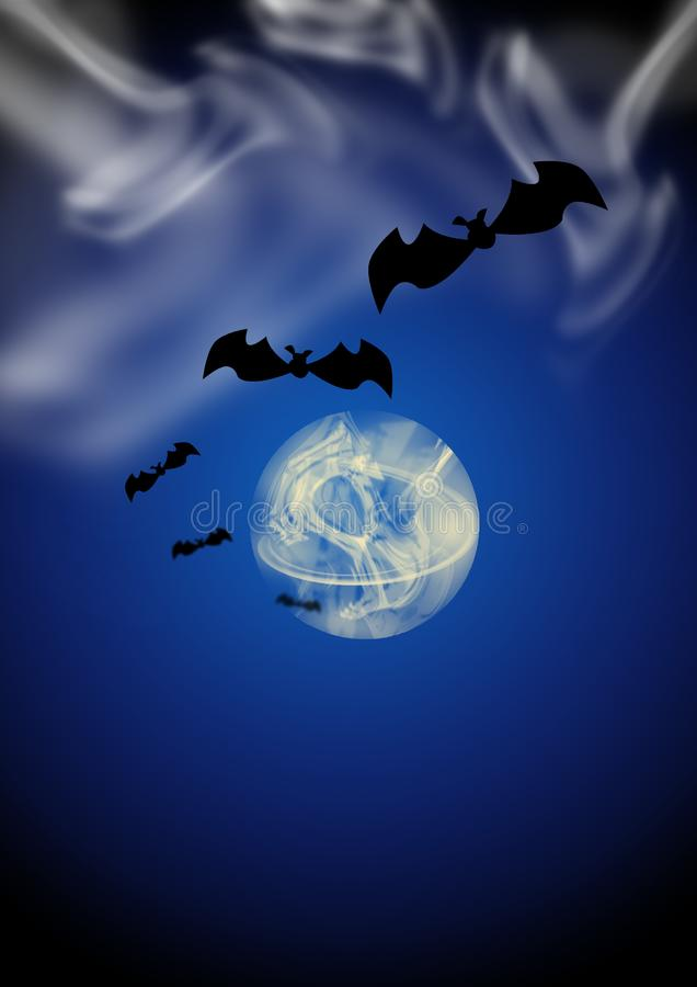 Minuit Halloween photo stock
