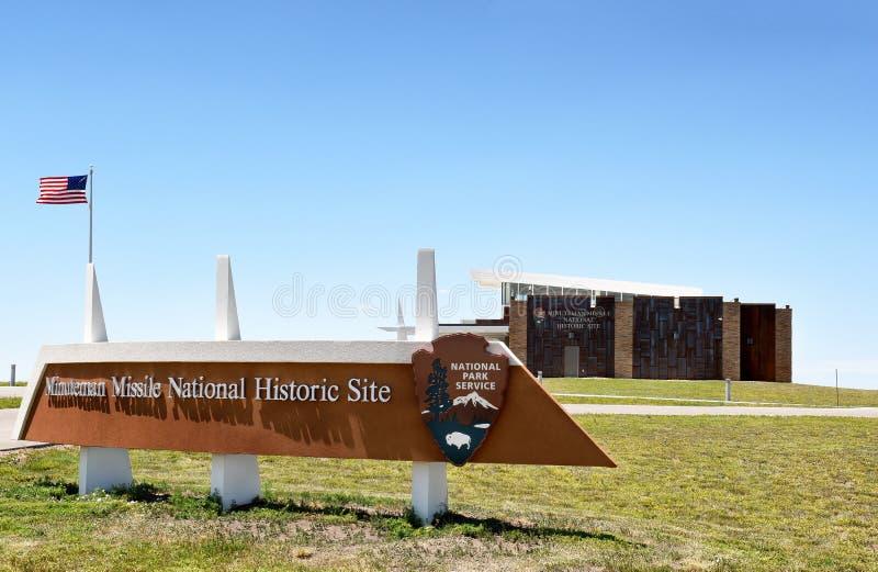 Minutemanu pociska Krajowy Historyczny miejsce zdjęcie royalty free