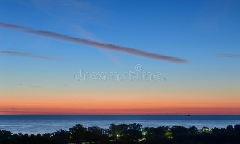 30 Minutes Before Sunrise stock image