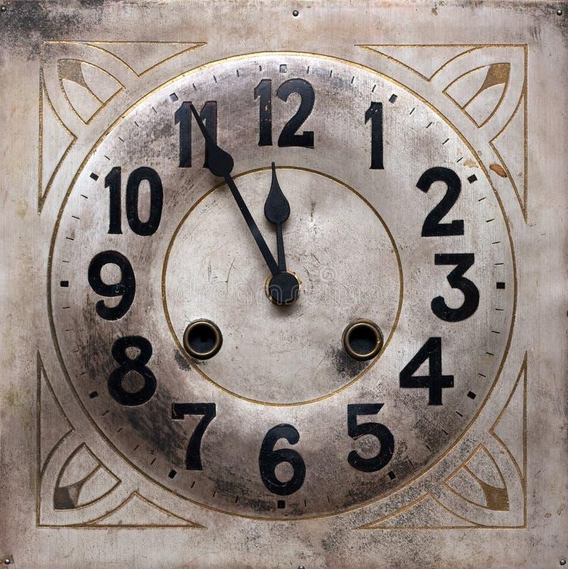 Minutos a la medianoche imágenes de archivo libres de regalías