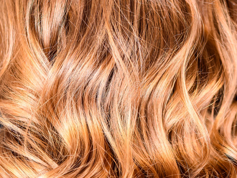 Miodowy Balayage włosy fotografia royalty free