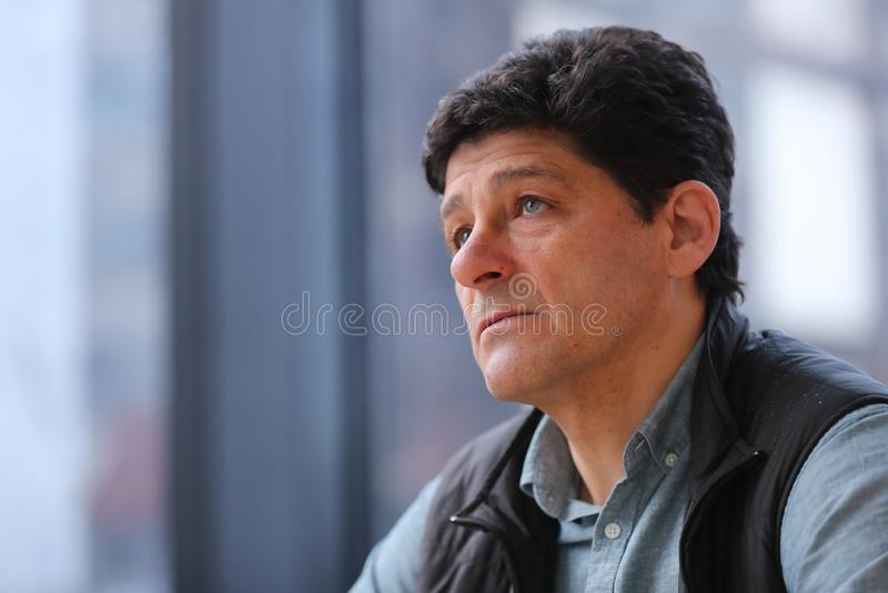 Miodrag Belodedici, ρουμανικός συνταξιούχος ποδοσφαιριστής στοκ φωτογραφίες με δικαίωμα ελεύθερης χρήσης
