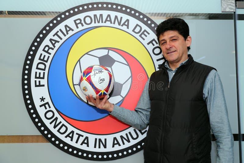 Miodrag Belodedici, futbolista jubilado rumano fotos de archivo libres de regalías
