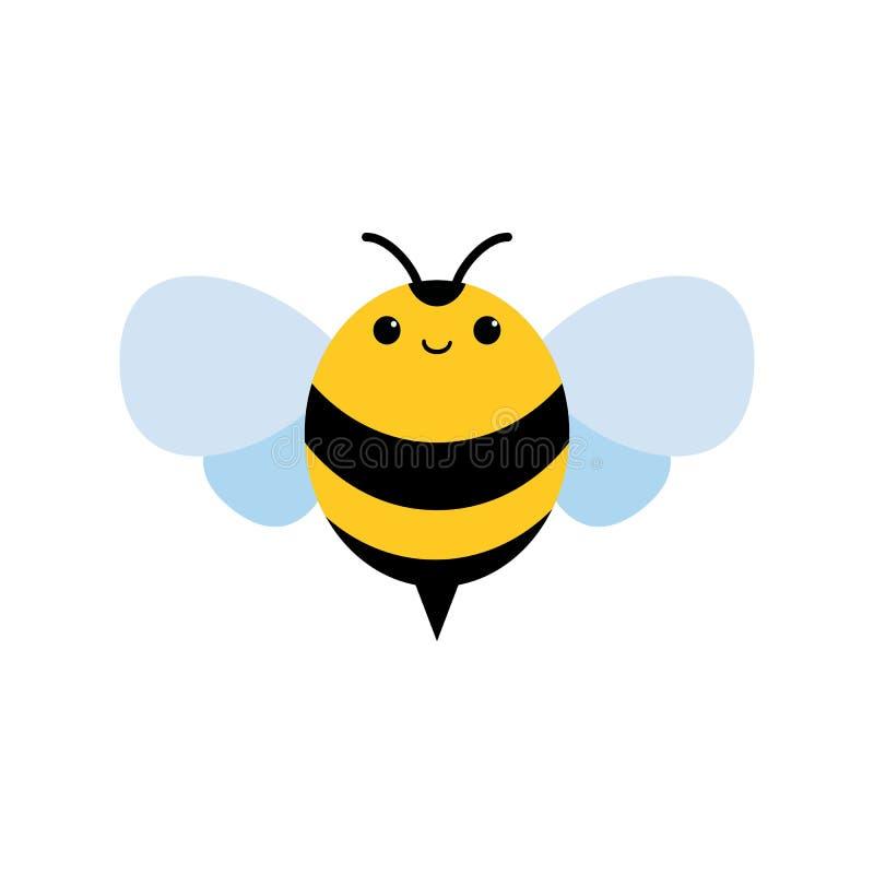 Miodu i pszczoły ikona Miodowy wektor ilustracja wektor