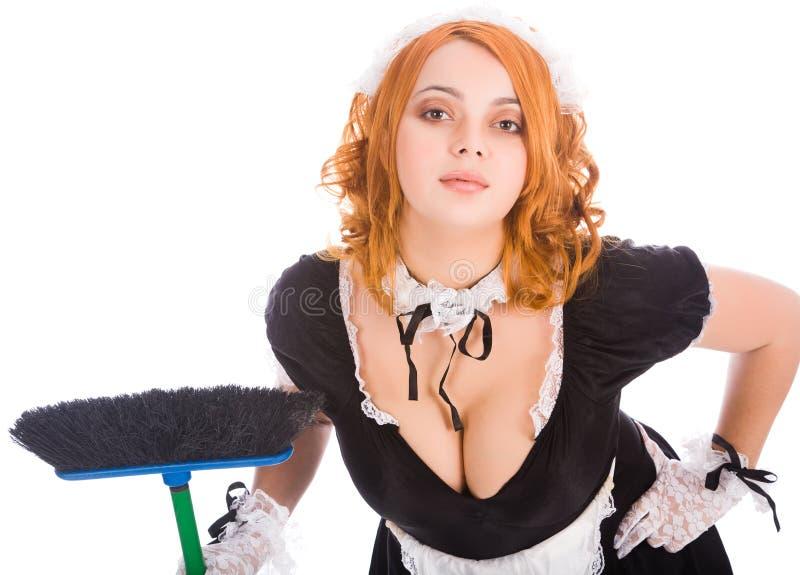 miotły housemaid potomstwa zdjęcia stock