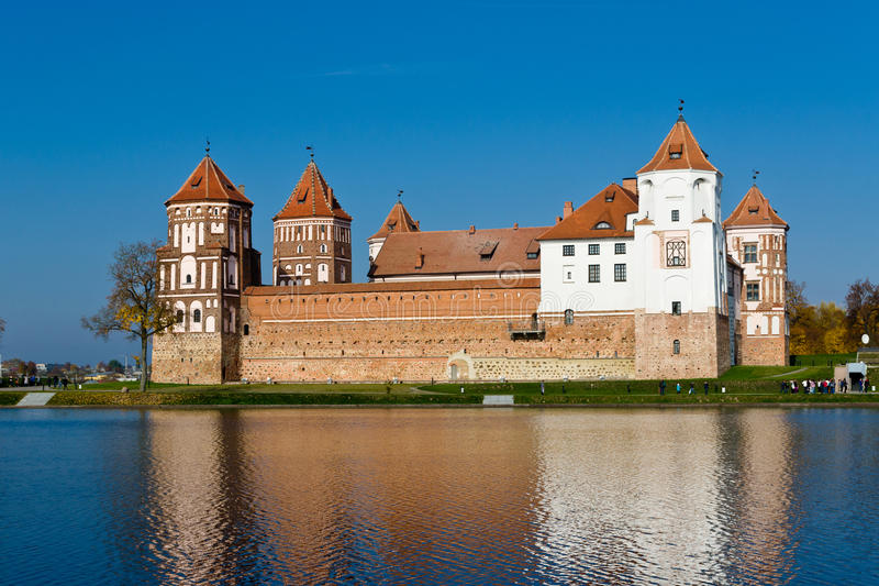 Mir城堡 库存照片