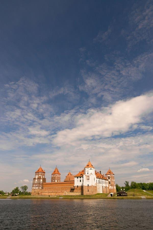 Mir, BELARUS - May 20, 2017: Mir Castle in Minsk region - historical heritage of Belarus. UNESCO World Heritage. Traveling on Bela stock images