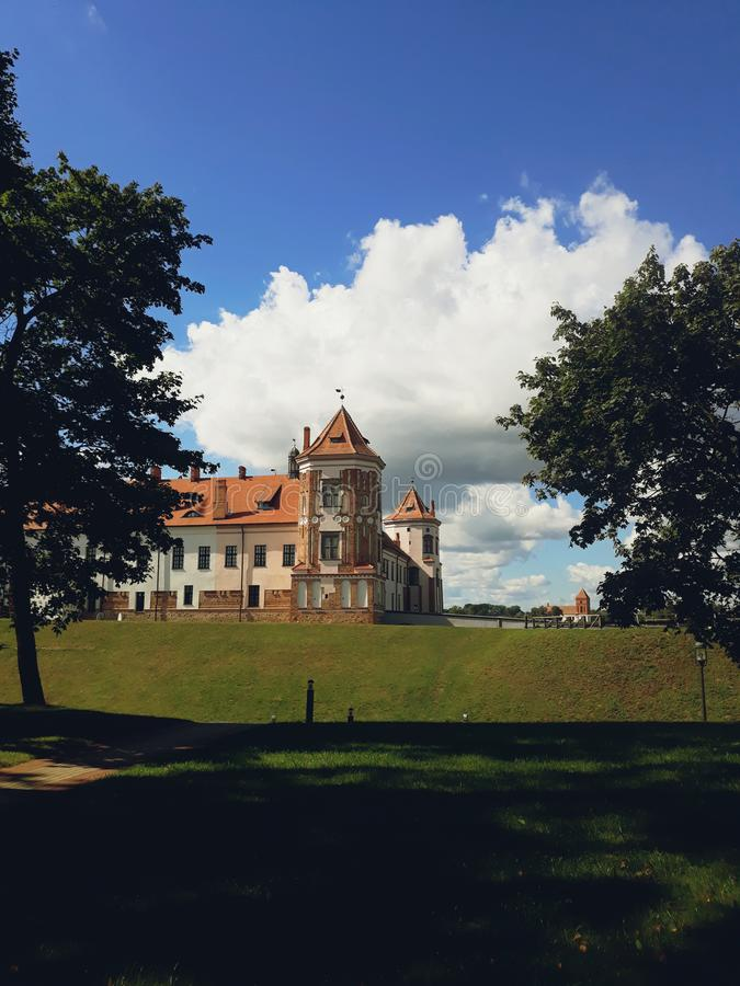 Mir Castle Complex in Belarus royalty free stock images