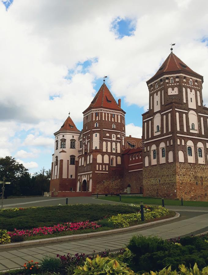 Mir Castle Complex in Belarus royalty free stock photography