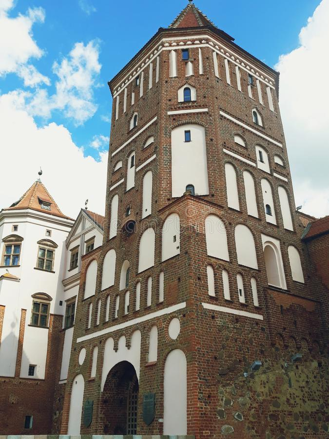 Mir Castle Complex in Belarus royalty free stock photo