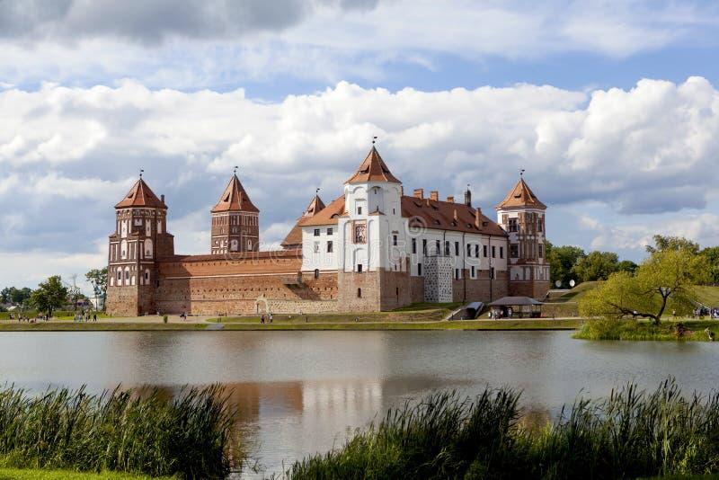 Mir Castle Αστική τακτοποίηση Mir belatedness στοκ εικόνα με δικαίωμα ελεύθερης χρήσης