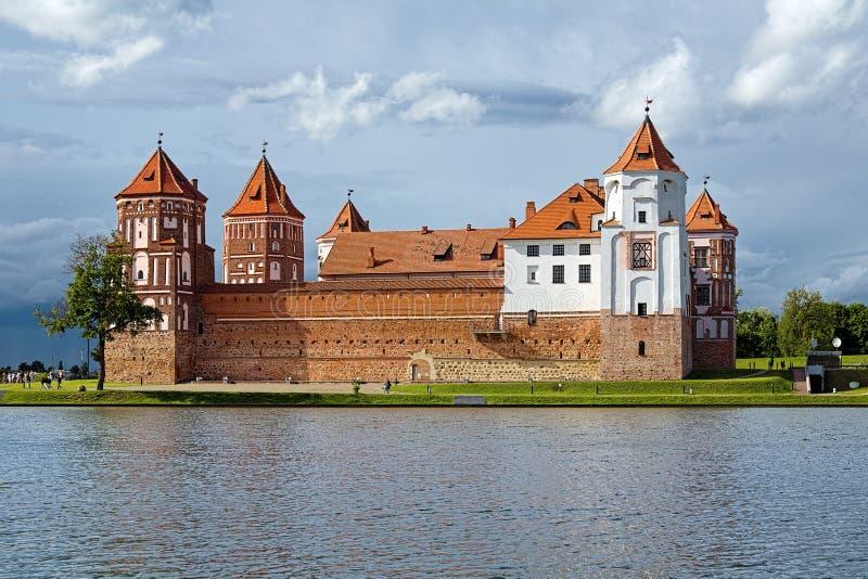 Mir Castle σύνθετο, Λευκορωσία στοκ εικόνες