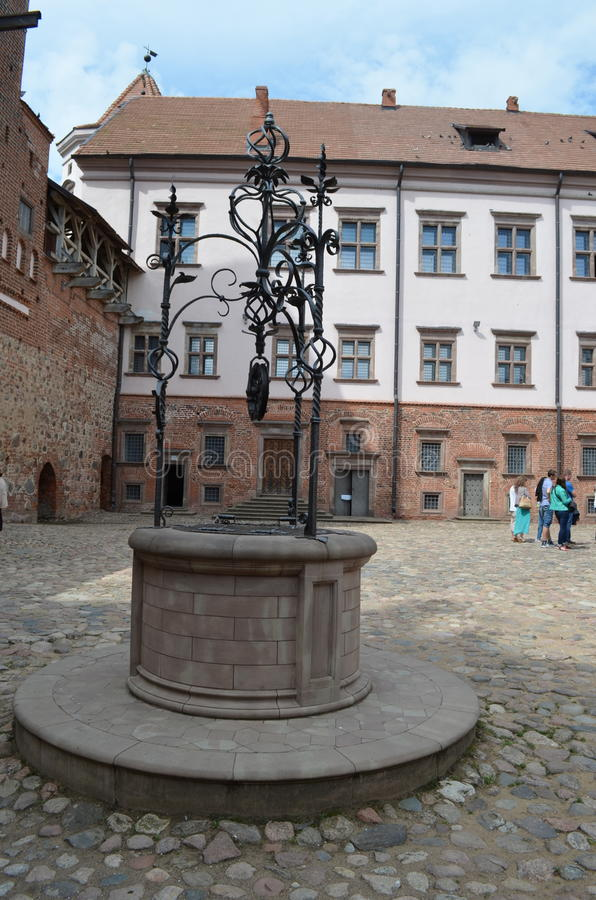 Free Mir Castle Royalty Free Stock Image - 55838306