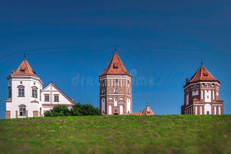 Mir Castle au Belarus image stock
