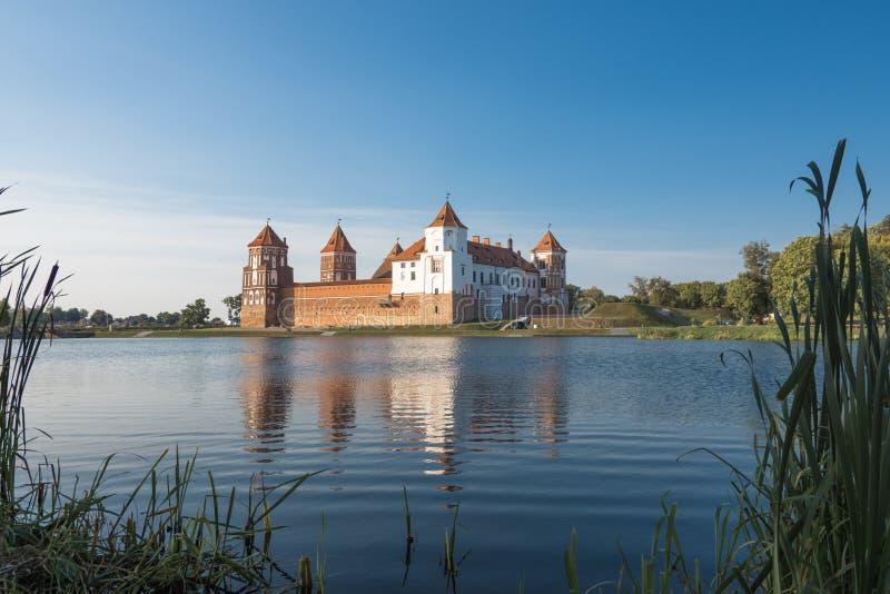 Mir Castle Belarus foto de stock royalty free