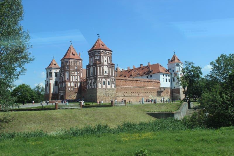 Mir Castle Belarus photographie stock libre de droits