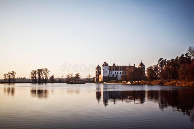 Mir Castle belarus photos stock