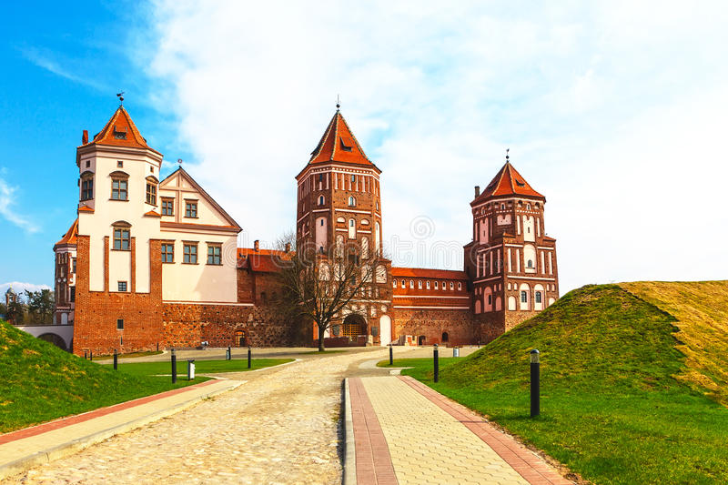 Mir Castle Complex stock photography