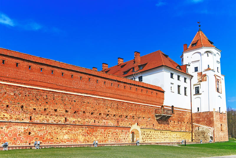 Mir Castle Complex royalty free stock photos