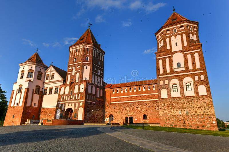 Mir Castle Complex - Belarus stock photography