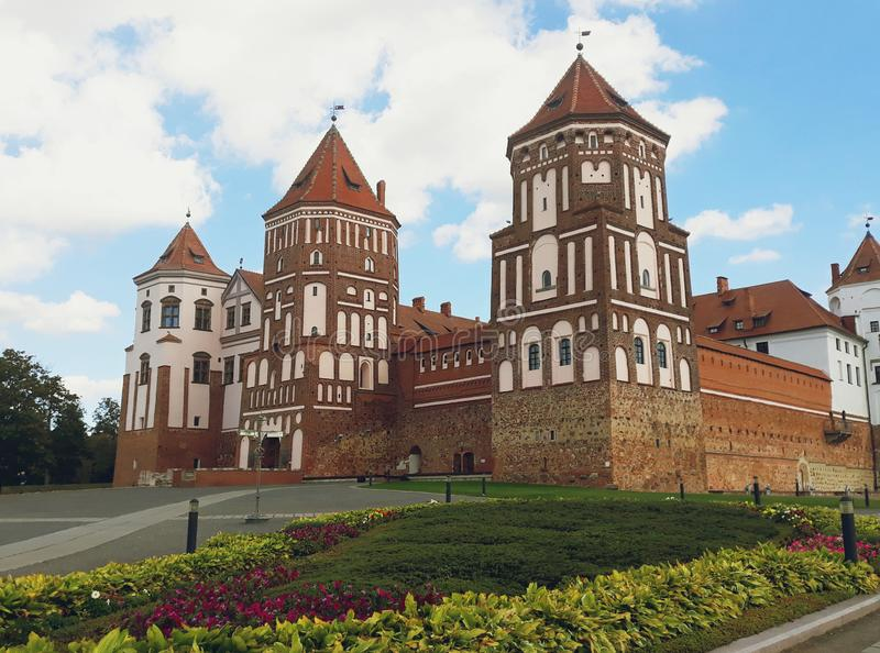 Mir Castle Complex in Belarus royalty free stock image
