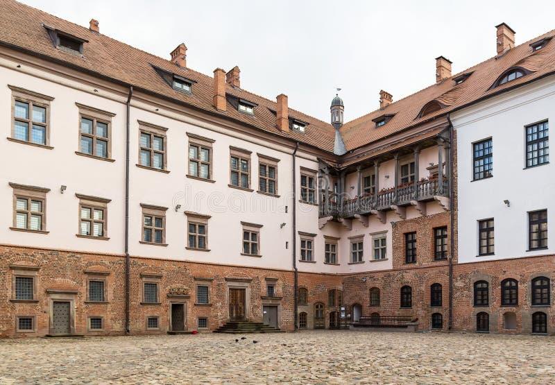 Mir Castle Complex Vitryssland arkivbilder