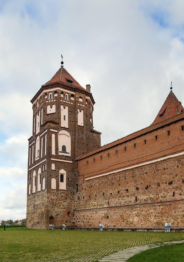 Mir Castle Complex Vitryssland royaltyfria foton